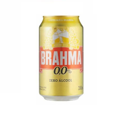 CervejaZeroAlcoolBrahma350ml